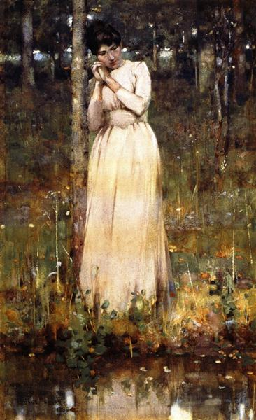 The Girl in White, 1886 - George Henry