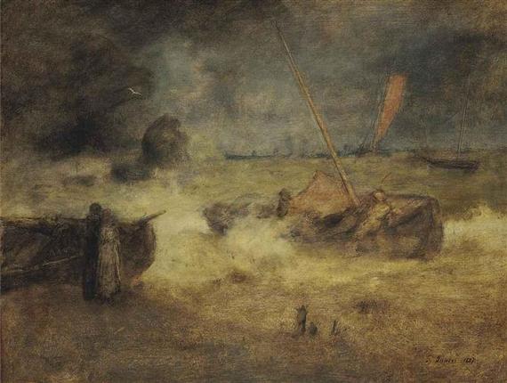 Coast of Cornwall, 1891