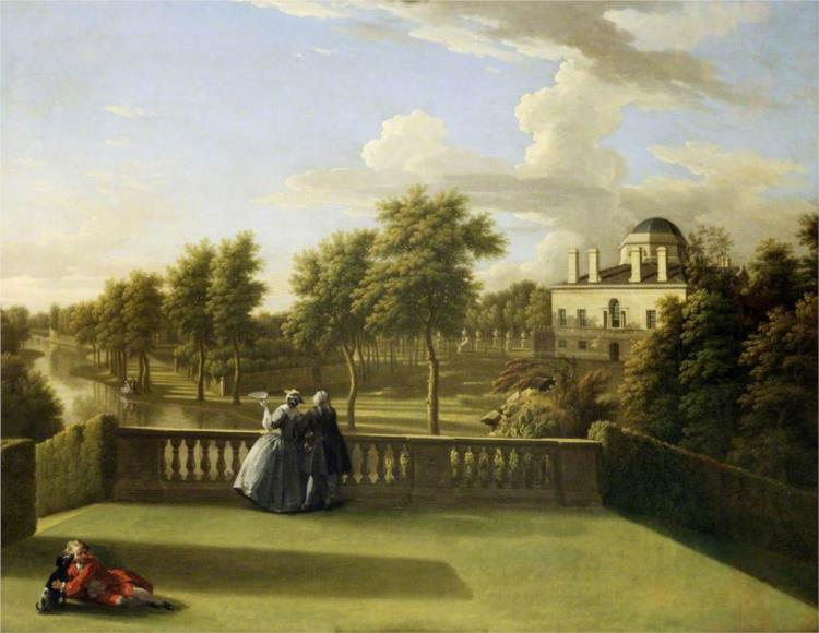 Chiswick House, Middlesex - George Lambert