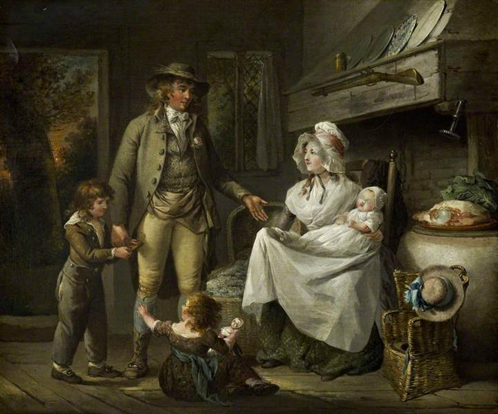 The Comforts of Industry, 1780 - George Morland