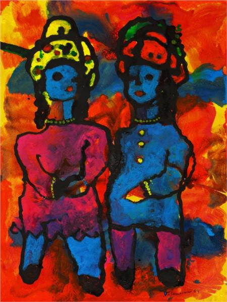 Friends since Childhood, 2004 - George Stefanescu