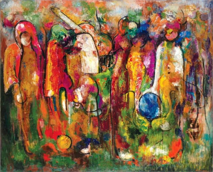 The Music, 1978 - George Stefanescu