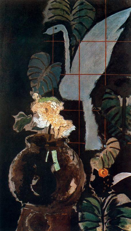 Zorz Brak ( Georges Braque ) - Page 4 A-landscape-drawn-into-squares