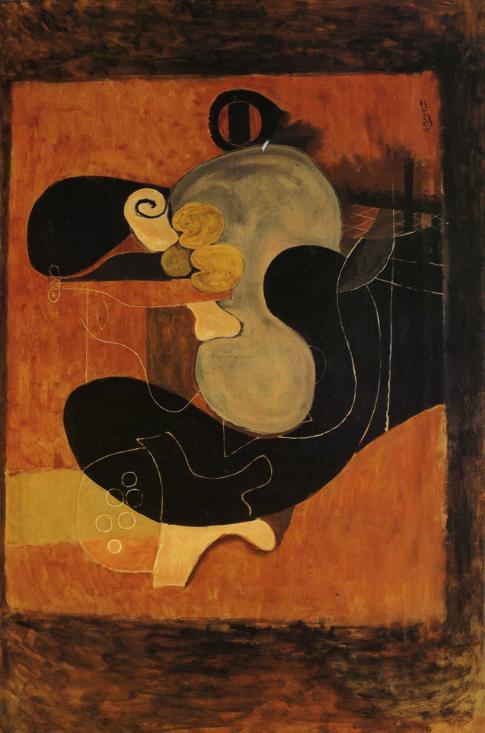 Zorz Brak ( Georges Braque ) - Page 4 Brown-still-life-1932