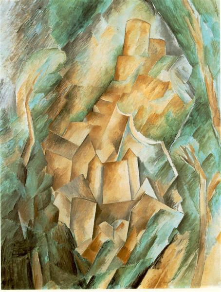 Castle at La Roche Guyon - Georges Braque