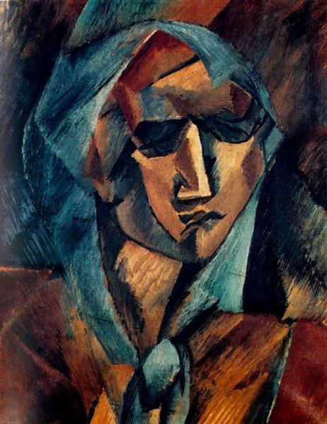 Head of a Woman, 1909 - Georges Braque