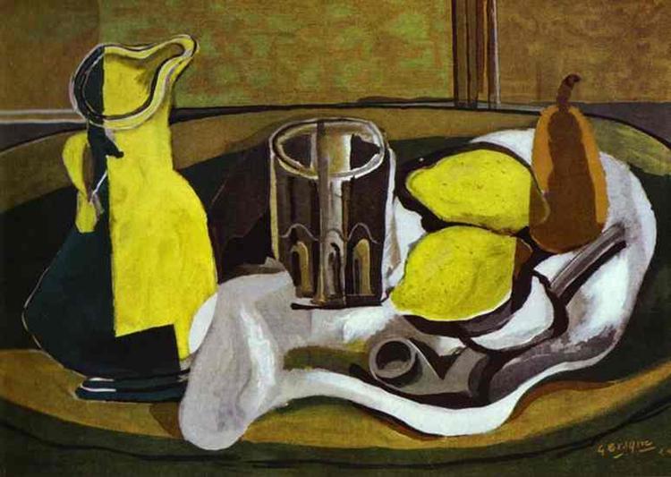 Lemons, 1929 - Georges Braque