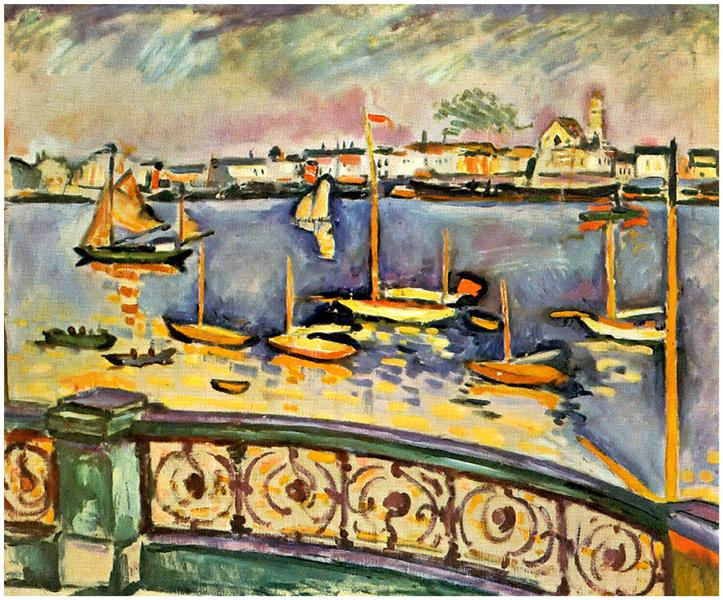 Port of Antwerp, 1906 - Georges Braque