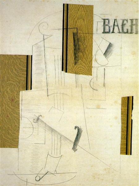 Still life BACH, 1912 - Georges Braque