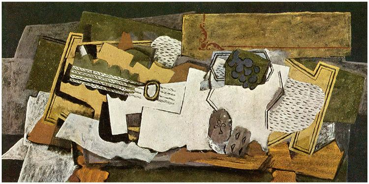 Still Life with a Guitar, 1919 - Georges Braque