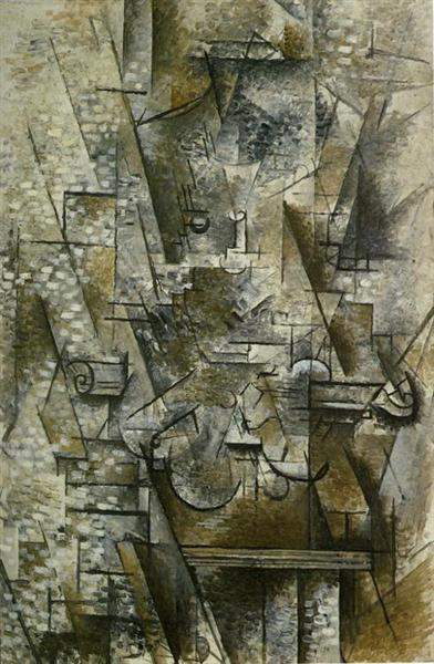 still life with a violin 1911 georges braque. Black Bedroom Furniture Sets. Home Design Ideas