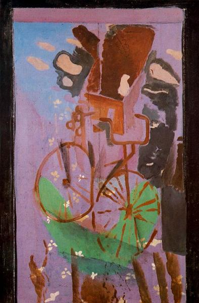 The Bicycle, c.1961 - Georges Braque