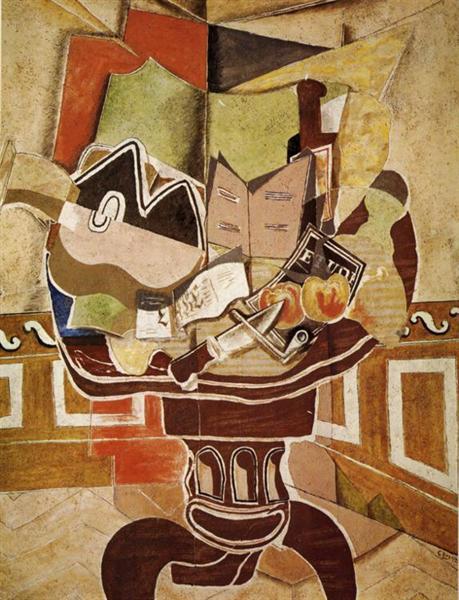 Круглий стіл, 1929 - Жорж Брак