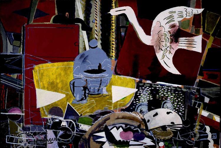 Студия VIII, 1954 - Жорж Брак