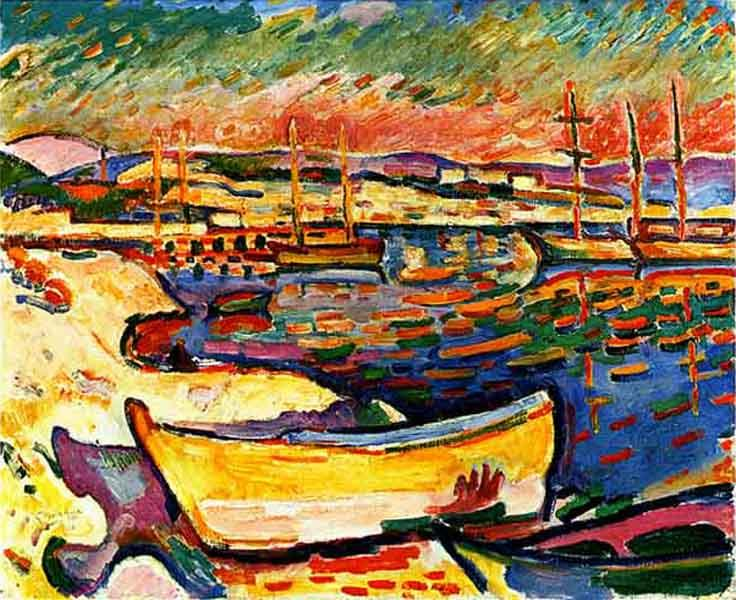 Yellow Seacoast, 1906 - Georges Braque