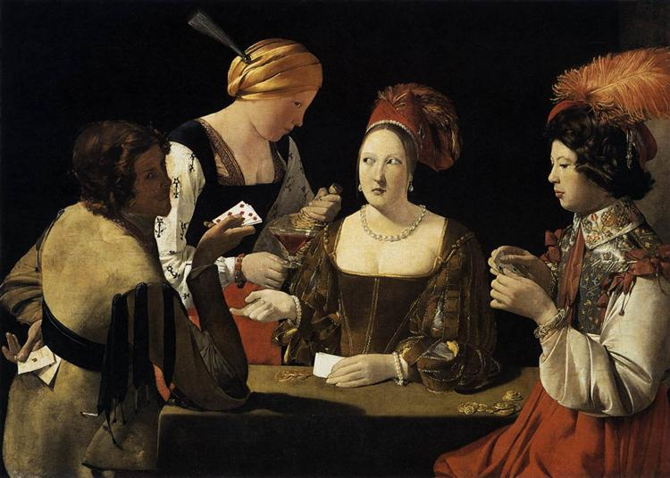 The Cheat with the Ace of Diamonds - Georges de la Tour