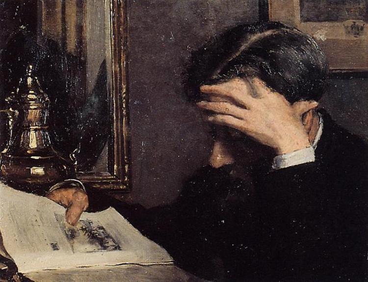 Man Reading - Georges Lemmen