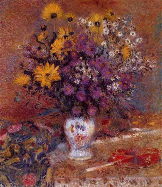 Vase of Flowers, c.1905 - c.1910 - Georges Lemmen