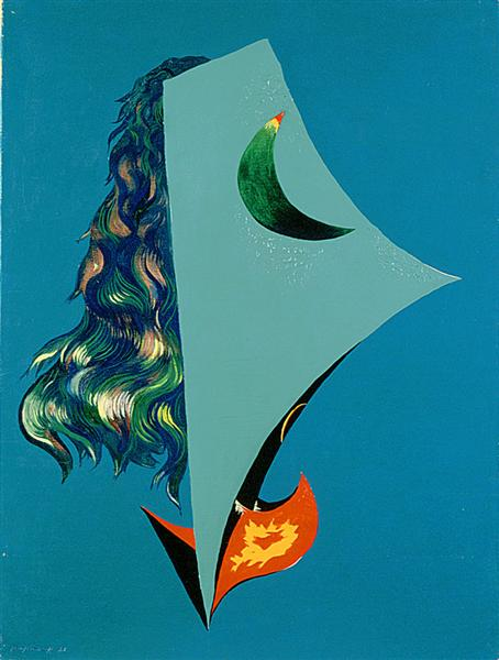 Surrealist Composition, 1928 - Жорж Папазов