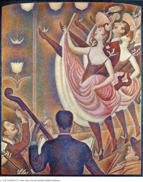 Chahut, 1889 - 1890 - Georges Seurat