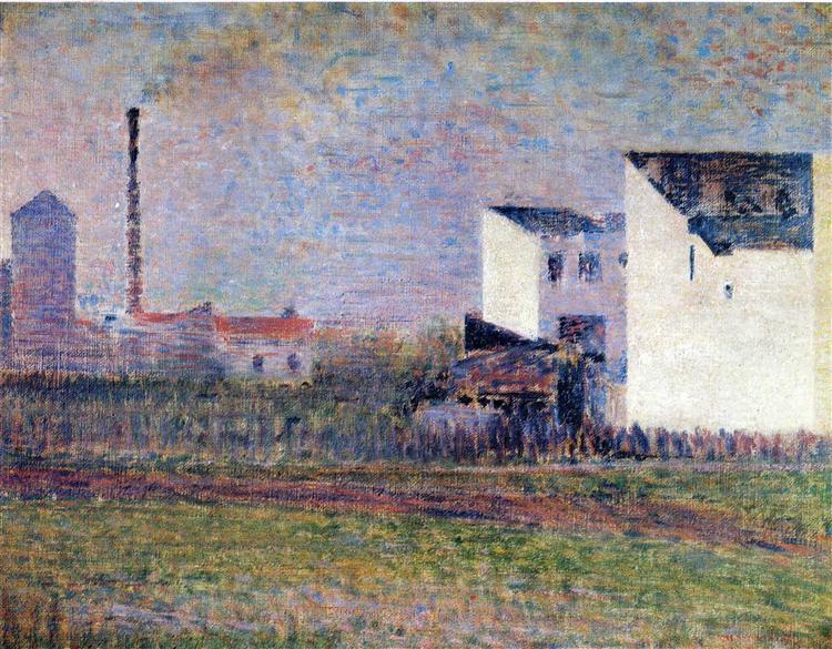 Suburb, 1881 - 1882 - Georges Seurat