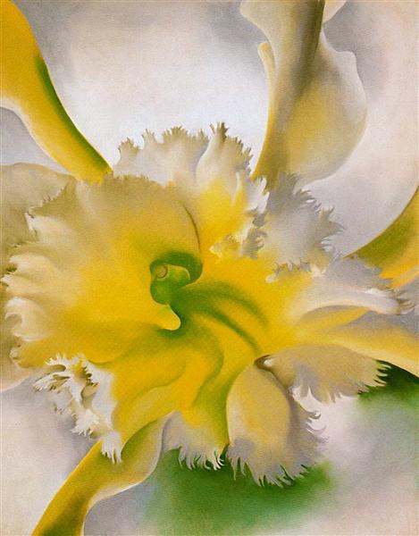 An Orchid - O'Keeffe Georgia