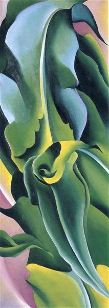Corn No. 2, 1924 - Georgia O'Keeffe