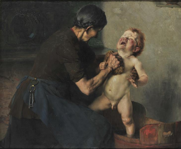 Cold Shower, 1898 - Georgios Jakobides