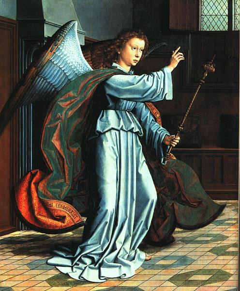 The Angel of the Annunciation, 1506 - Gerard David