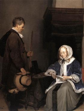 The Message - Gerard Terborch