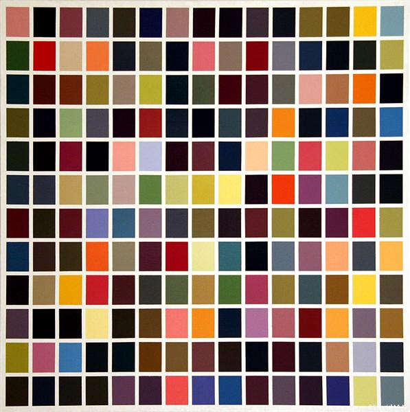 180 Colors - Gerhard Richter