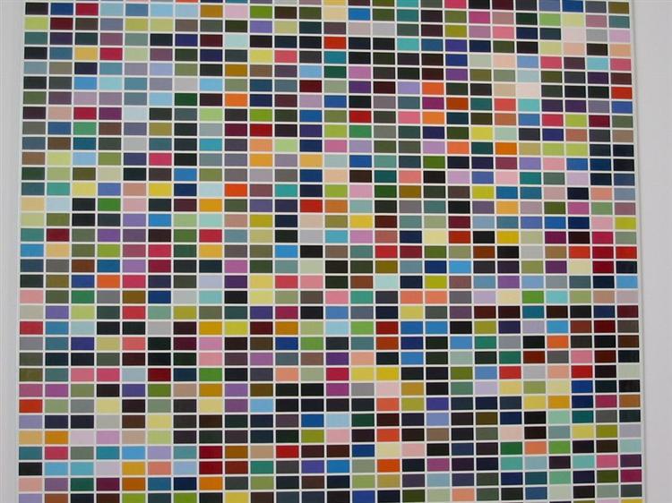 Art Poster - Gerhard Richter