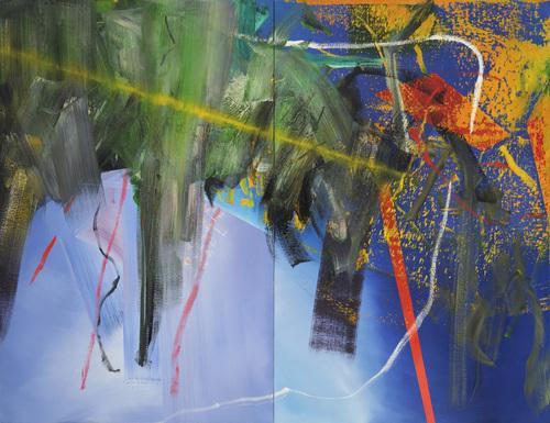 Clouds, 1982 - Герхард Ріхтер