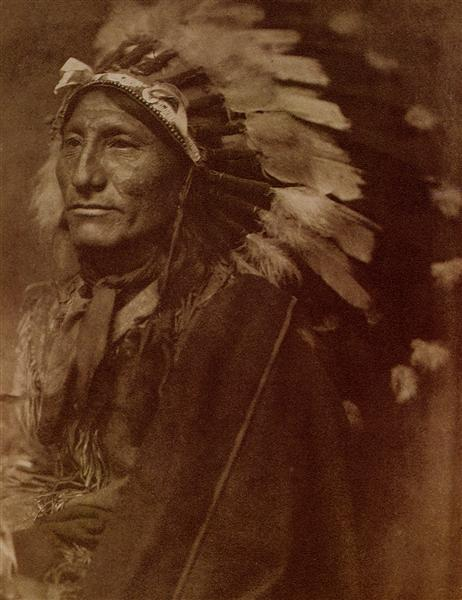 Indian Chief - Gertrude Kasebier