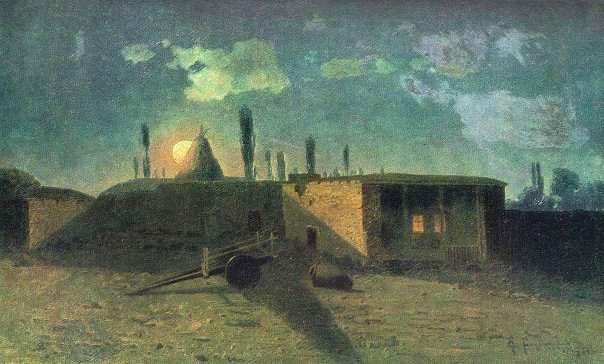 Khachatur Abovian's house in Kanaker, 1884 - Gevorg Bashindzhagian