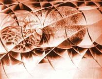 Black and White Futurist Forcefield - Giacomo Balla