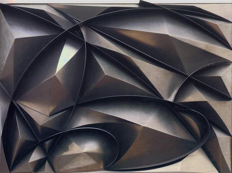 Plastic ensemble, 1915 - Giacomo Balla