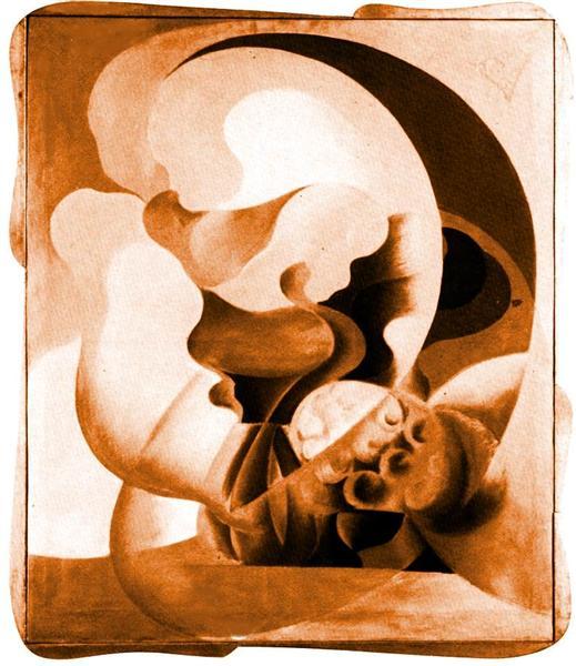 Primavera (Spring), 1918 - Giacomo Balla