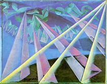 Spirit-form transformation - Giacomo Balla