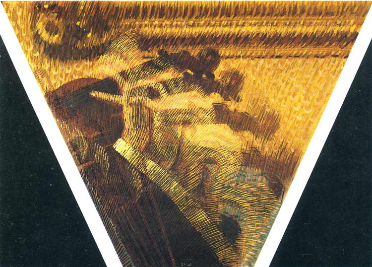 The Hand of the Violinist, 1912 - Giacomo Balla