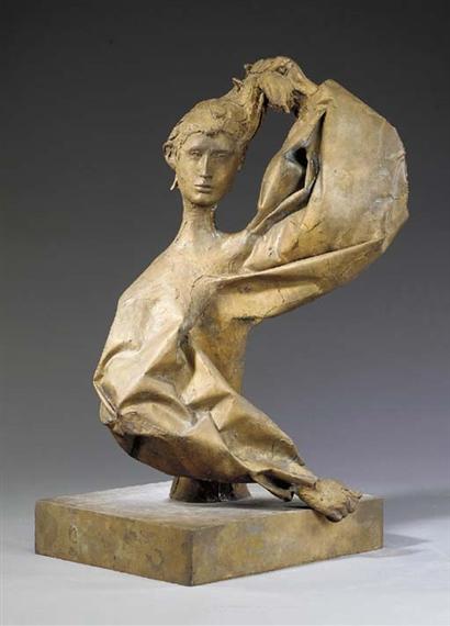 Busto di Inge - Giacomo Manzu