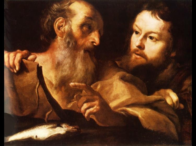 Saint Andrew and Saint Thomas, c.1627 - Gian Lorenzo Bernini
