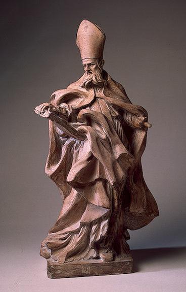 St. Augustine, c.1650 - Gian Lorenzo Bernini