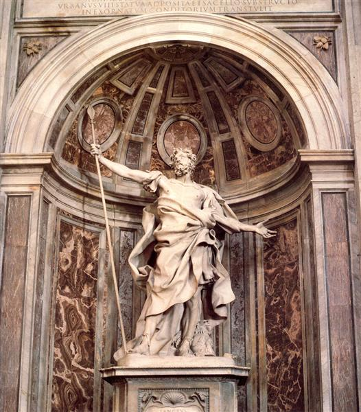 St. Longinus, c.1631 - c.1638 - Gian Lorenzo Bernini