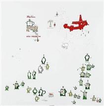 La mancanza di geometria e come una sporcizia - Gianfranco Baruchello