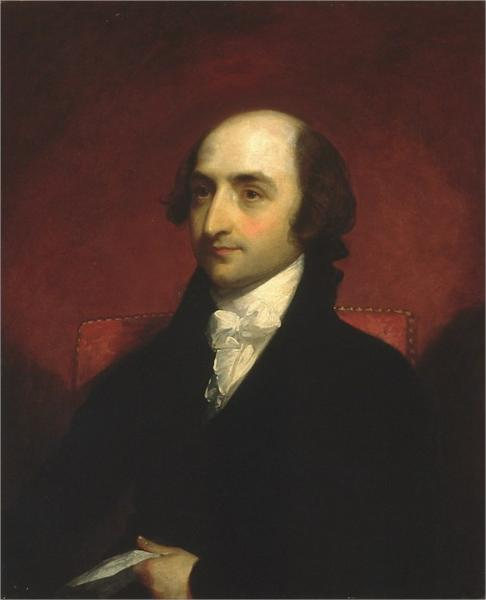 Albert Gallatin, 1803 - Gilbert Stuart