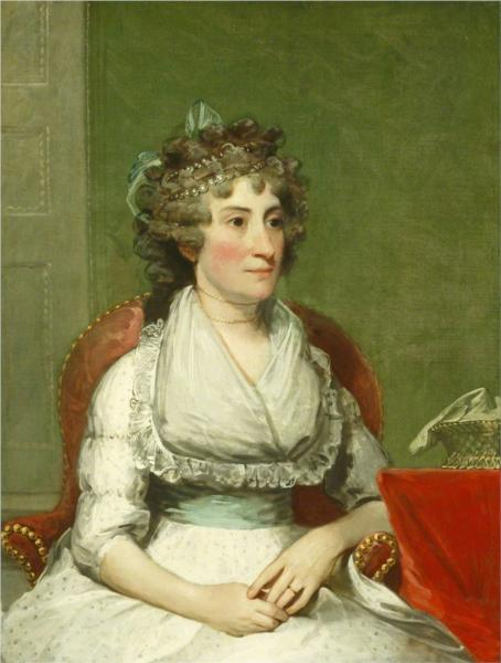Catherine Yates Pollock (Mrs. George Pollock), 1794 - Gilbert Stuart