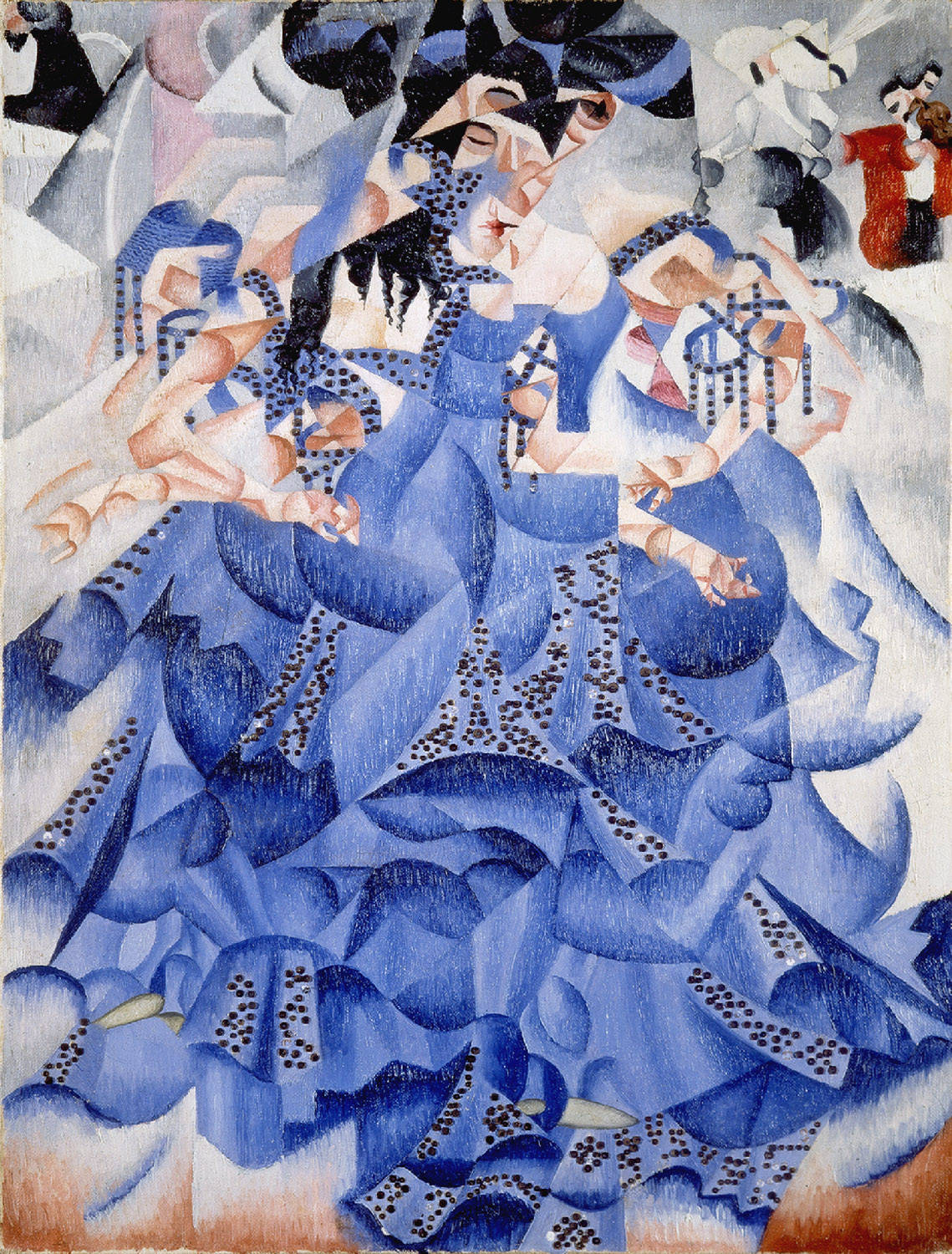 ballerina in blue 1912 gino severini. Black Bedroom Furniture Sets. Home Design Ideas