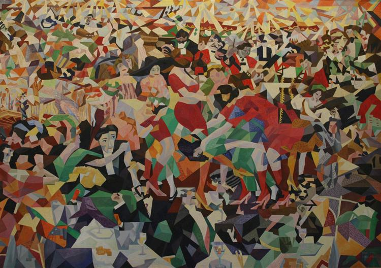 Attribution: The Pan Pan at the Monico by Gino Severini