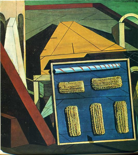 The Gentle Afternoon, 1916 - Giorgio de Chirico